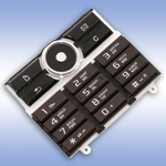 Русифицированная клавиатура для Sony Ericsson G900 Brown