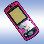 Корпус для Motorola L7 Pink - High Copy