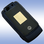 Корпус для Motorola V6 Blue - High Copy