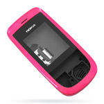 Корпус для Nokia 2220 Slide Pink - High Copy