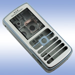Корпус для Sony Ericsson D750 Ice-Blue - High Copy