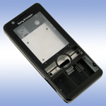 Корпус для Sony Ericsson G900 Black - High Copy