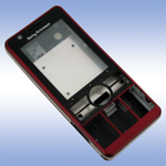 Корпус для Sony Ericsson G900 Red - High Copy