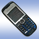 Корпус для Sony Ericsson J200i Blue - High Copy