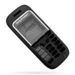 Корпус для Sony Ericsson J220 Black - High Copy