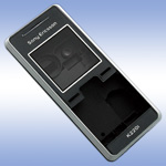 Корпус для Sony Ericsson K220 Black - High Copy