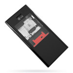 Корпус для LG BL20 Black - High Copy