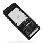 Корпус для Sony Ericsson C902 Black - High Copy
